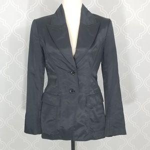 Karen Millen Black Short Pea Coat